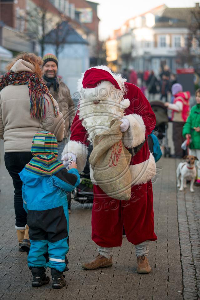 Julemanden i Nykøbing Sj.